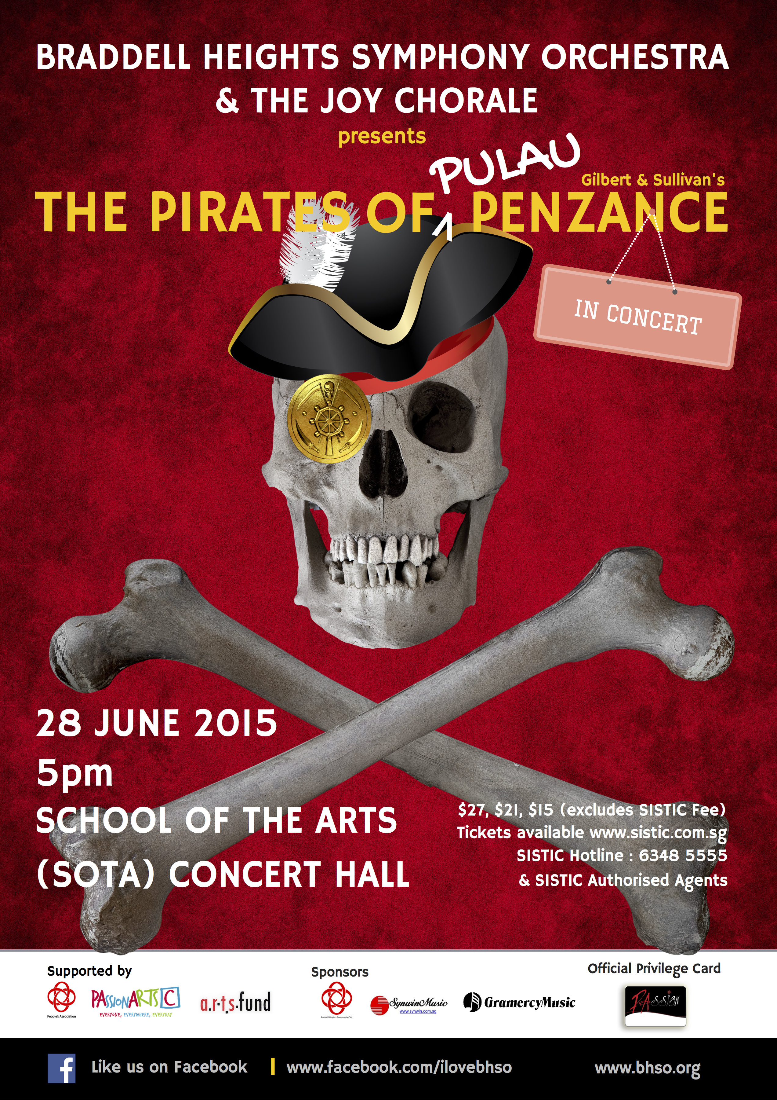 The Pirates of Pulau Penzance (Property of BHSO)