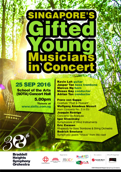 Singapore's Gifted Young Musicians in Concert
