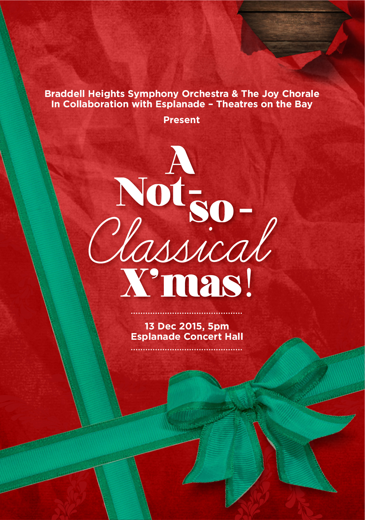 A Not So Classical X'mas (Property of BHSO)